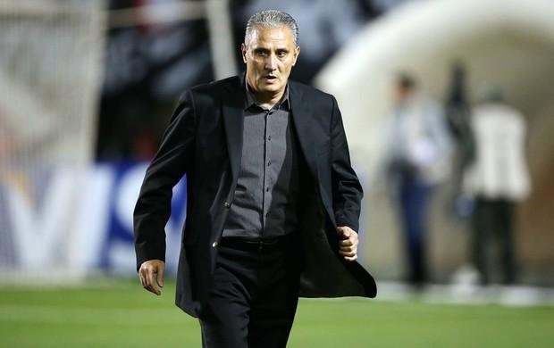Tite jogo Corinthians e Grêmio (Foto: Marcos Ribolli / Globoesporte.com)