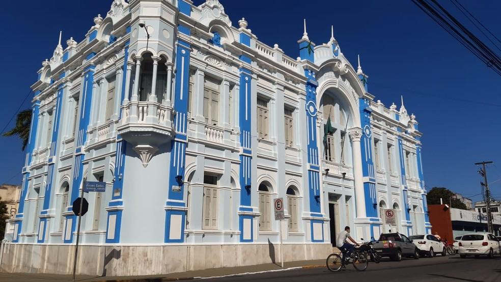 Prédio Prefeitura de Natal fachada  — Foto: Sérgio Henrique Santos/Inter TV Cabugi