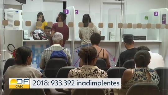 Mais de um milhão de brasilienses estão com contas atrasadas