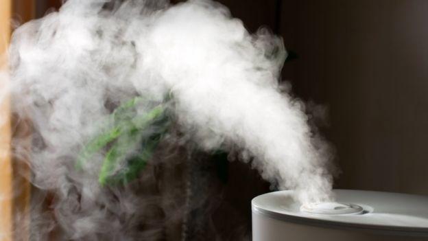 Especialistas recomendam uso de umidificador de ar e toalhas molhadas para melhorar umidade em ambientes fechados (Foto: Getty Images via BBC News Brasil)
