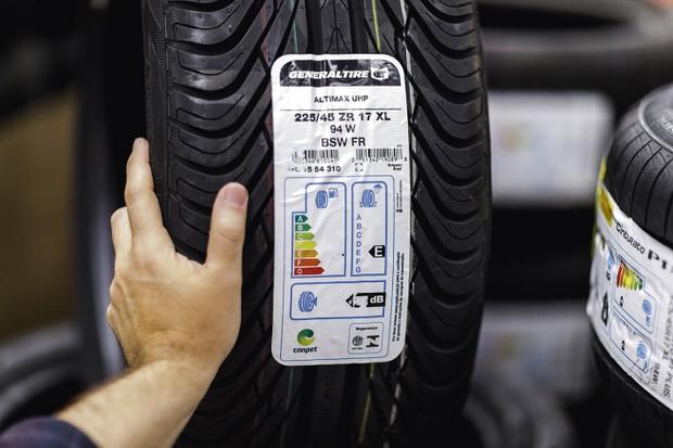 Você sabia que seu pneu tem uma nota? (Foto: Christian Castanho)