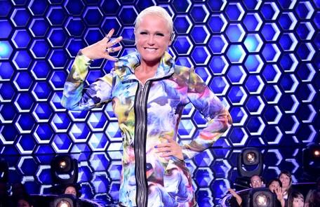 "Xuxa Meneghel apresentou o ""The four"" na Record Blad Meneghel"