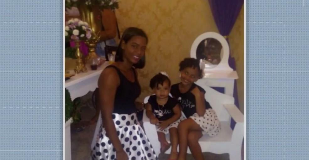 Mãe e filhas morreram após mal-estar  — Foto: Reprodução/TV Bahia