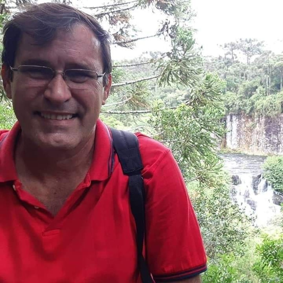Major da reserva Paulo Settervall — Foto: Facebook / Reprodução