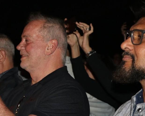Luiz Fernando Guimarães e o marido, Adriano Medeiros (dir) (Foto: Rogério Fidalgo/AgNews)