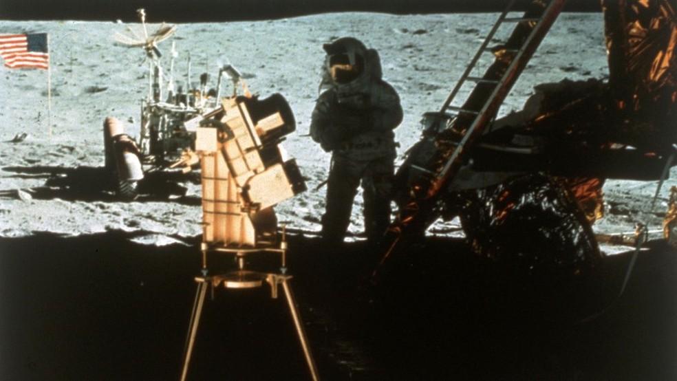 Estados Unidos enviaram seis tripulações à Lua entre 1969 e 1972 (Foto: Getty Images via BBC)