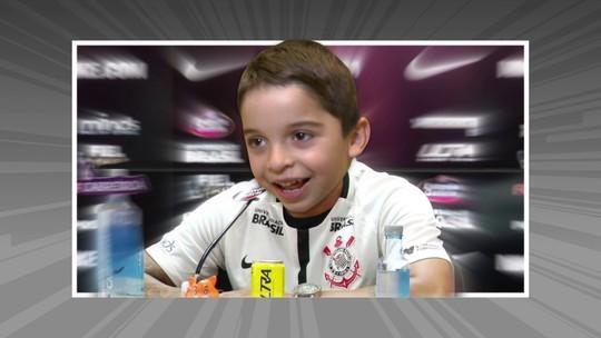 Crianças realizam o sonho de jogar futebol como profissional na Arena Corinthians