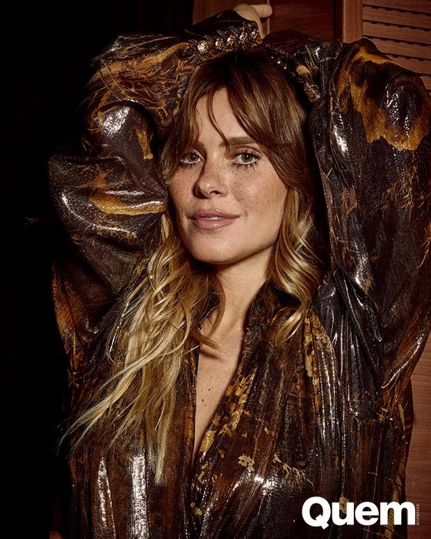 Carolina Dieckmann (Foto: Elvis Moreira/ Ed. Globo)