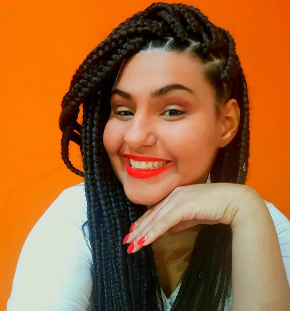 Gabriela Ramos Leal, 34 anos, venceu a Famelab 2020 pelo voto popular — Foto: Divulgação