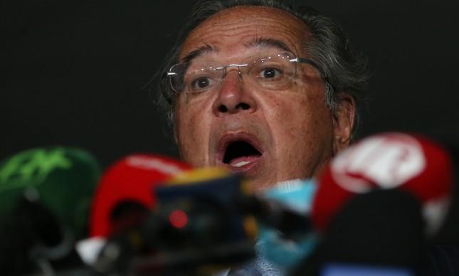 O ministro Paulo Guedes leva a reforma tributária ao Congresso