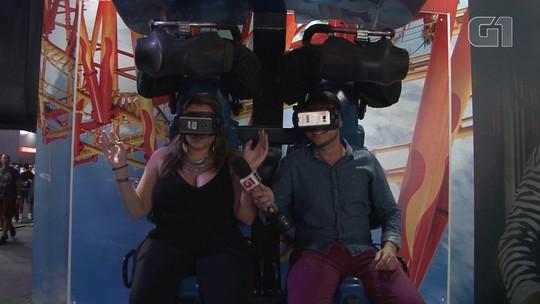 Game XP traz jogos e realidade virtual para Rock in Rio 2017; VÍDEO