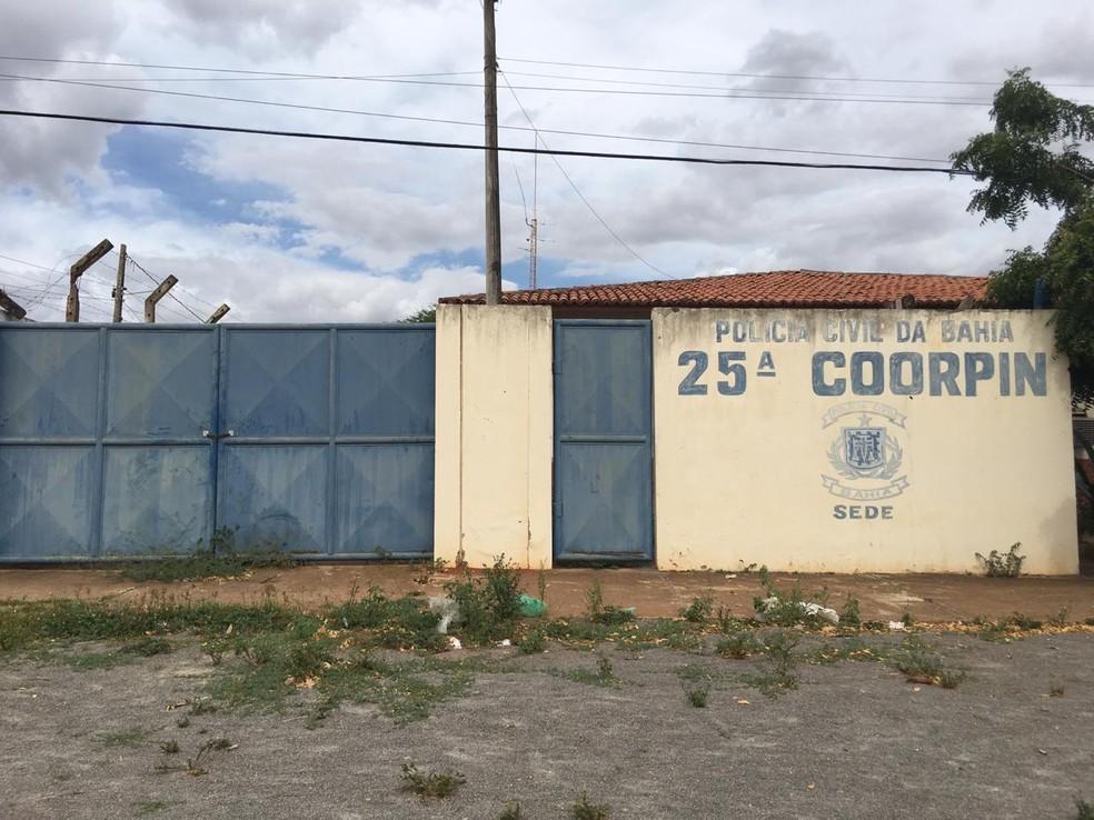 Homem foi localizado após investigações da delegacia de Euclides da Cunha — Foto: Alan Oliveira/ G1