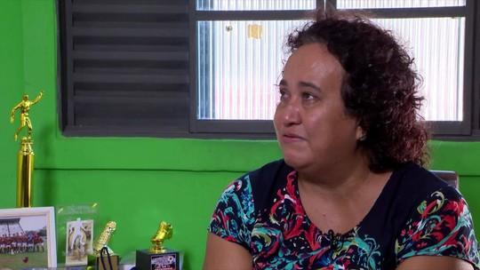 """Mãe de vítima do Ninho transmite força às mulheres que lutam para recomeçar: """"Não desistam"""""""