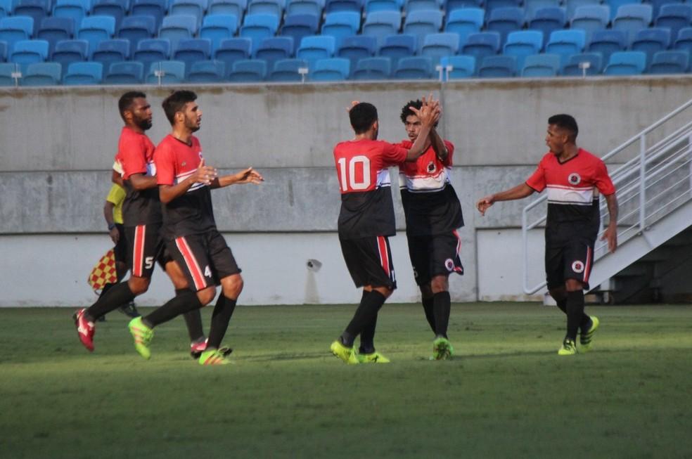 Força e Luz venceu fácil o Atlético Potiguar nesta segunda-feira (Foto: Diego Simonetti/Blog do Major)