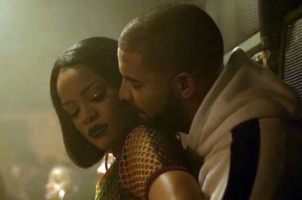 Rihanna e Drake no teaser de 'Work' (Foto: Reprodução)