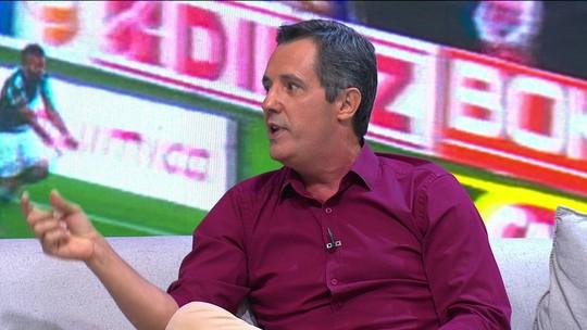 No Tá na Área de cara nova, Lino diz que Palmeiras tem sorte com sequência