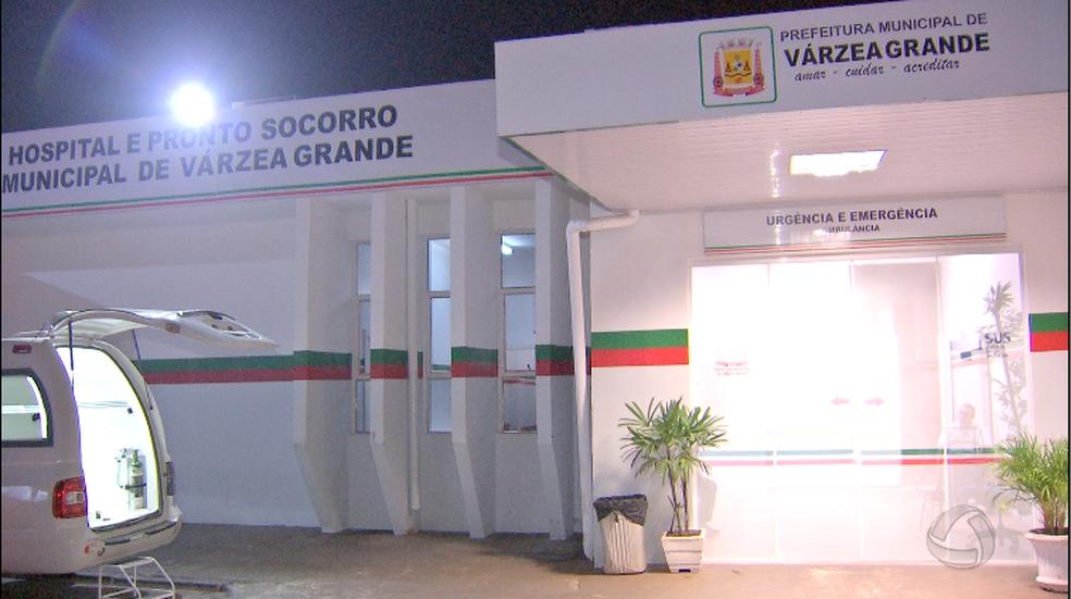 Empresário estava internado desde abril no Pronto-Socorro Municipal de Várzea Grande (Foto: Reprodução/TVCA)