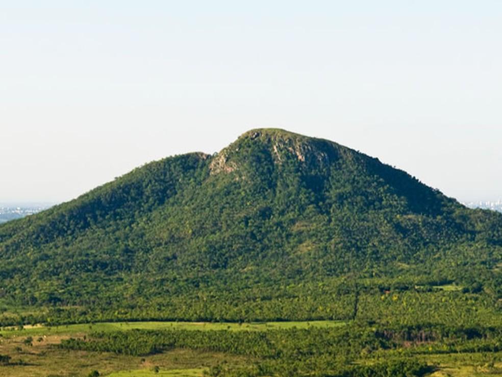 Morro de Santo Antônio — Foto: Marcos Vergueiro/Secom-MT