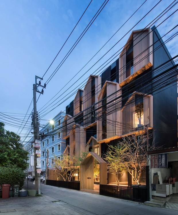 Edifício Sachi, em Bangkok (Foto: Reprodução/ Octane)