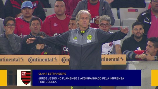 """Jornalista portuguesa no Redação SporTV avisa que Jorge Jesus """"não veio a passeio"""" ao Flamengo"""