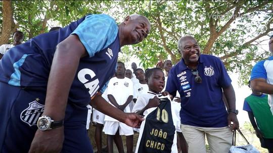Esporte Espetacular: conheça João Chico, o garoto de Moçambique que emocionou o Santos; vídeo
