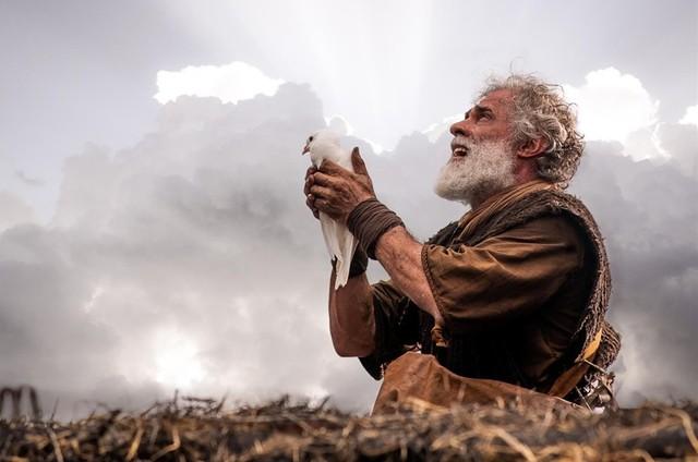 """Oscar Magrini como Noé em """"Gênesis"""" (Foto: Divulgação)"""