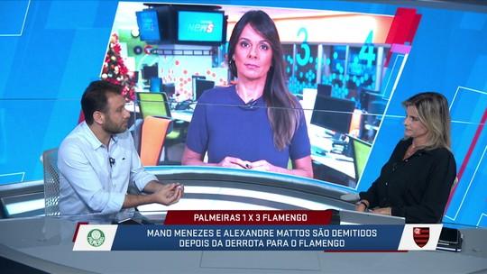 Jornalistas analisam os números do Mano Menezes no Palmeiras