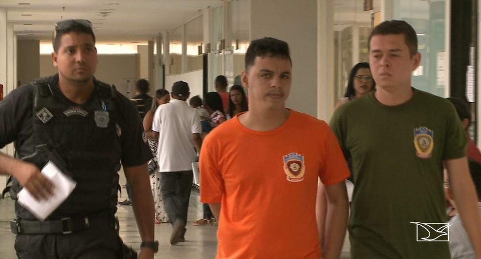 Sávio Gomes Fonseca foi condenado pelo assassinato do professor universitário André Arouche em São Luís — Foto: Reprodução/TV Mirante