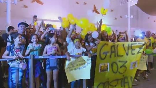 Tour pelas instalações do Palmeiras, emoção e festa no Acre: a volta pra casa do Galvez