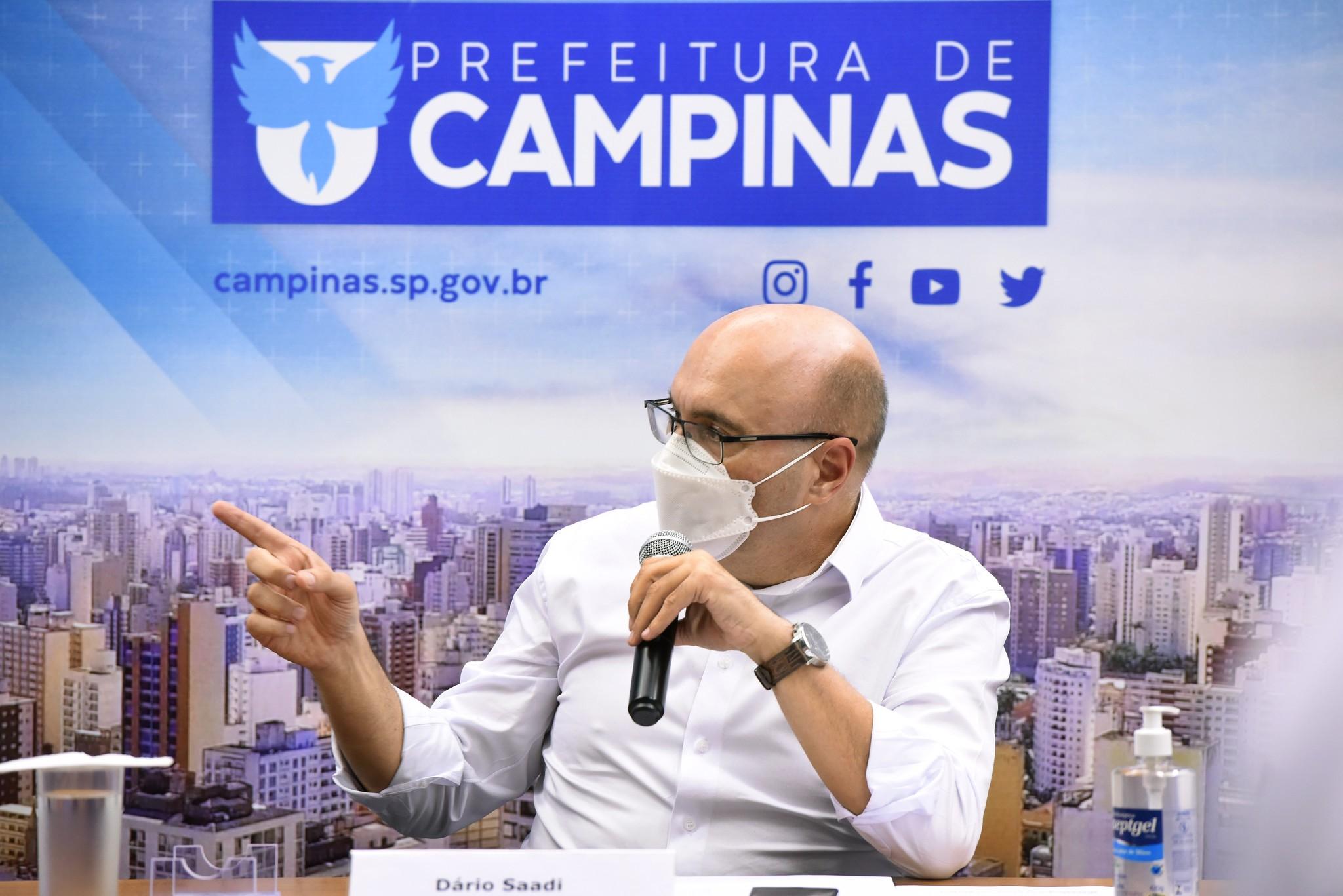 Covid: Campinas anuncia toque de recolher das 19h às 5h a partir de segunda-feira