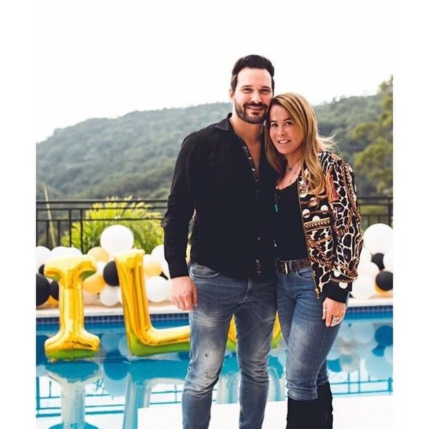 Marco Ruggiero e Zilu Camargo (Foto: Reprodução/Instagram)