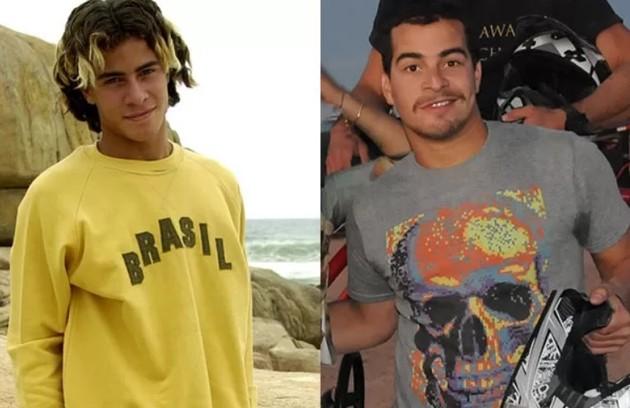 Thiago Martins começou a carreira em 2004, na adolescência (Foto: Reprodução)