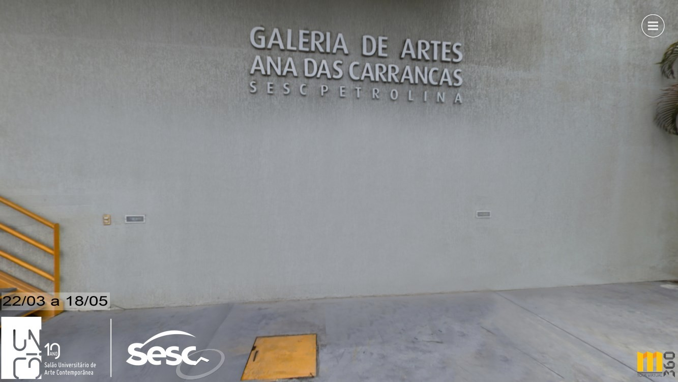 Portal para visita virtual permite acesso à exposição do 11º Salão Universitário de Arte Contemporânea