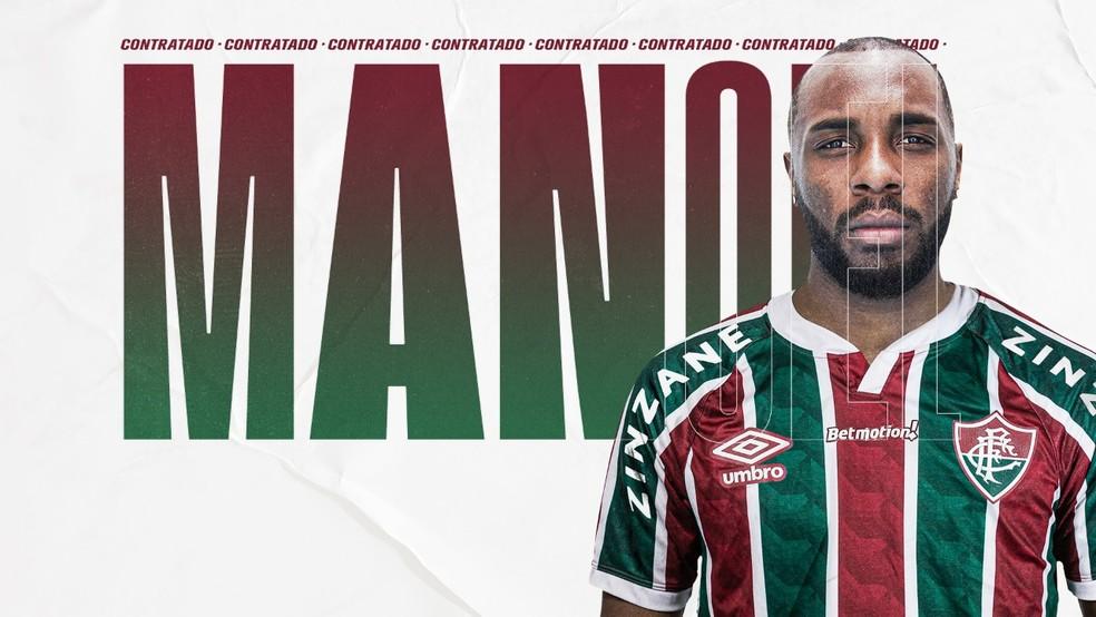 Fluminense anuncia Manoel — Foto: Reprodução