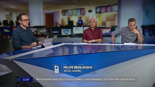 Redação: comentaristas não acreditam em punição a Goiás e Ceará no caso Ernandes