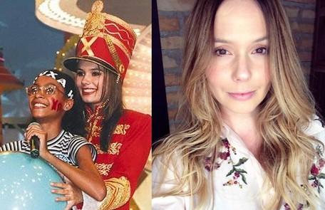 Graziella Schmitt se tornou atriz e, desde então, atuou em diversas produções. No ano passado, deu à luz a sua primeira filha, Constance TV Globo / Reprodução Instagram
