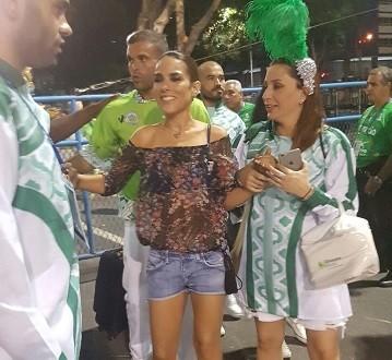 Wanessa Camargo diz que preparação teve aulas de samba e aplicativo fitness