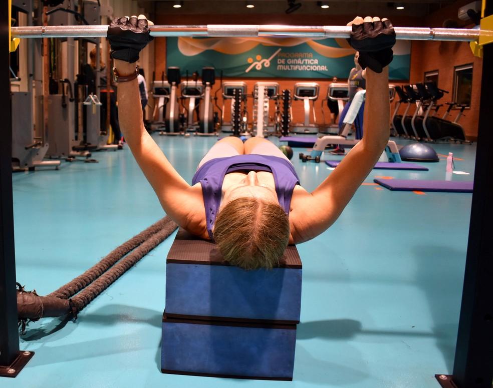 Mulheres são menos atingidas pela perda de massa muscular causada pela diabetes descontrolada. — Foto: Geovana Alves/G1