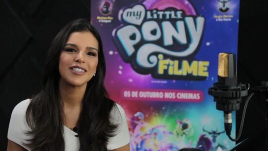 Mariana Rios dubla vilã Tempest em 'My Little Pony - O filme': 'Eu me conecto com meu lado criança'