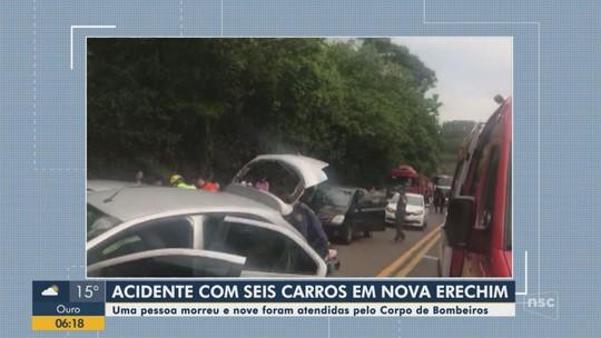 Acidentes deixam ao menos 12 mortos nas estradas de SC