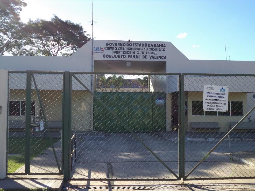 Conjunto Penal de Valença, na Bahia — Foto: Divulgação/Seap