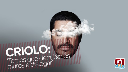 Criolo leva rap sobre periferia ao Lolla, com ingresso a R$ 920: 'Não pode haver muros'