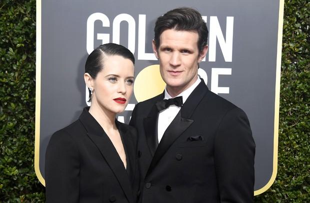 Claire Foy e Matt Smith (Foto: Getty Images)