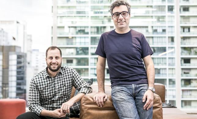 Gabriel Braga e André Penha, fundadores do QuintoAndar