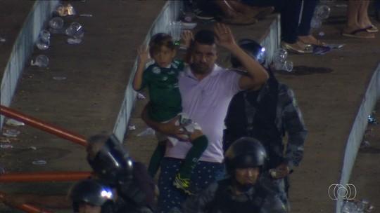 MP-GO pede multa de R$ 1 milhão ao Goiás e à CBF por briga em clássico