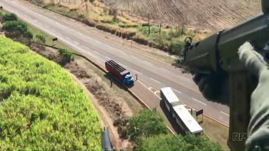 Denarc apreende caminhão com 1,7 tonelada de maconha no norte do Paraná