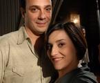 Matrcelo Médici e Simone Gutierrez | Alex Carvalho/ TV Globo