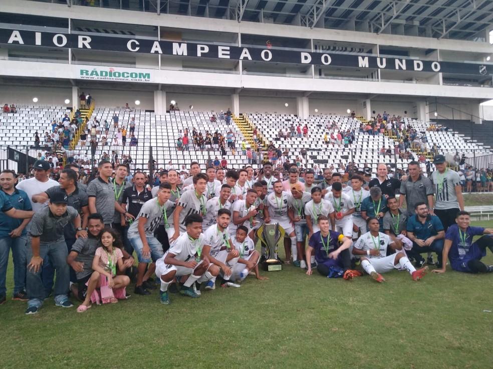 ABC campeão no sub-19 — Foto: Oscar Xavier/Inter TV Cabugi