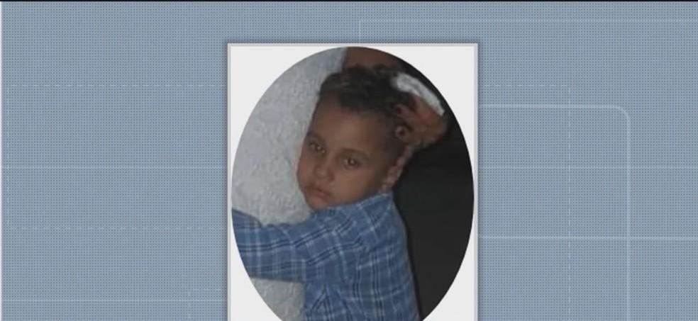 Criança de cinco anos morreu após ser atingida por tiro acidental no sul da BA — Foto: Reprodução / Santa Cruz