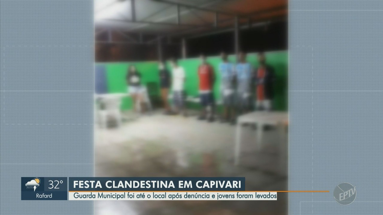 Campinas e Capivari têm flagrantes de festas clandestinas no fim de semana